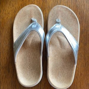Spenco Arch Support Sandals Silver 7W